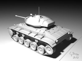 m24 tank - 2. kep by FeriAnimations