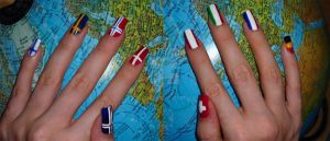Hetalia Inspired Nails - part2 by Didi-hime