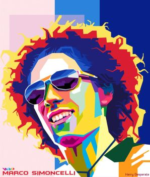 Marco Simoncelli In WPAP by harrypotro