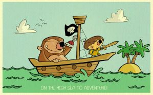 High Seas Adventure! by tyrannus