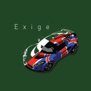 Exige t-shirt by rmattisonav8r