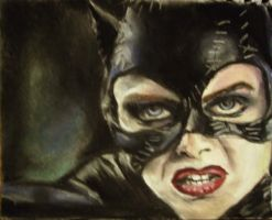 Catwoman Pastel by Kittie86