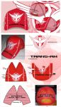 Trans Am Gundam 00 Trucker Cap by bayrude