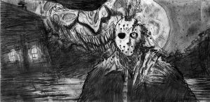 Freddy vs Jason sketch by mattjacobs