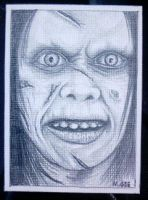 THE EXORCIST - ACEO by mikegee777
