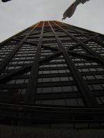 hancock tower, chicago by scullylam