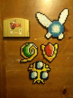 Ocarina of Time Beadsprites by 8bitsofawesome