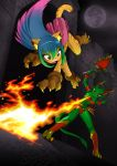 The Cat VS The Dragon by Dragonman32