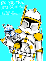 Clone Wars Cody and Rex by thehaydenclone