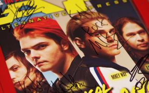 Personalized MCR Autograph by KatyChemical
