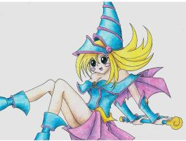 DMG : Dark magician girl by Lusikka
