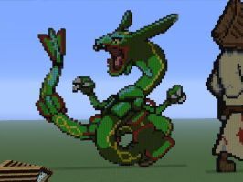 Rayquaza finished by DarkRedTigr