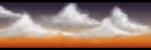 Auburn Clouds by Auxuris