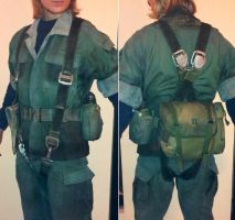Metal Gear - Naked Snake gear and weathering test by RBF-productions-NL