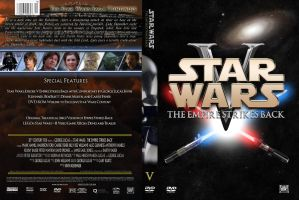Star Wars: The Empire Strikes Back DVD Cover by SUPERMAN3D