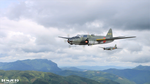 G4M2 Betty over Laos - 01 by Tom2099