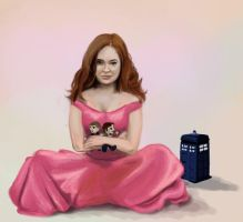 Amelia Pond - fairy tale by Dreamsparkle