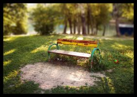 Park Bench by Ilyich