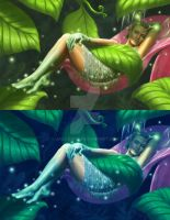 Dream Fairy-day and night by jazzjiang