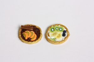 Fimo tart by Miyu-Maneki