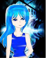 Blue girl mix by Yancalai