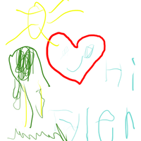 Ty's First Art Piece by Stepherbell