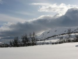 Winter Mountains by Castlemoor-stock