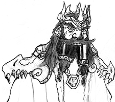 Dwarven King by Vahki530
