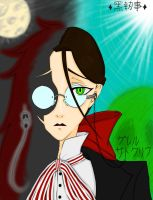 The Red Butler, Mysterious-colored by RhodArt