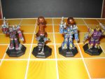 Transformers custom chess set decoy pawns by Prowlcop