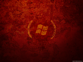 Crack RED wallpaper by amine5a5