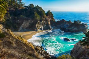 bay Big Sur, California by alierturk