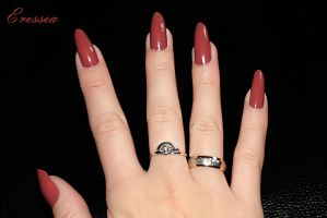 Red nails by eresseayesta