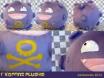 1' Koffing Plush by GrowlyLobita
