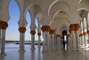 Abu Dhabi - Grand Mosque 18 by LeighWhittaker