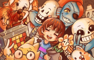 Undertale by Pew-PewStudio