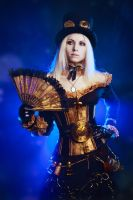 Steampunk girl by Elena-NeriumOleander
