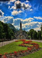Dreamland of Lourdes by BWozniakPhotography
