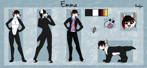 :CO: Emma Reference Sheet by Donnecha
