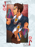 Handsome Jack card by NikaLagann
