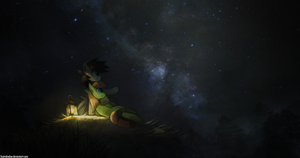 Stargazing by FoxInShadow