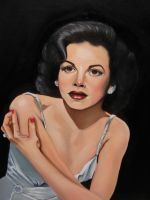 Judy Garland by mklanglo