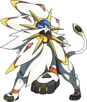 Solgaleo - Pokemon Sun Legendary