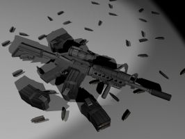 M4A1 SOPMOD Carbine by OutcastOne