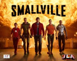 Justice League - Smallville by TheSnowman10
