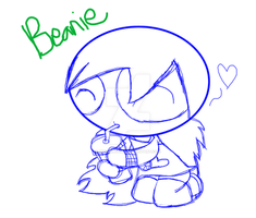RandomGift(Sketch)- Beanie by Brashgirl901