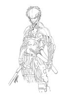 Raiden Lined up by TeegKetchen