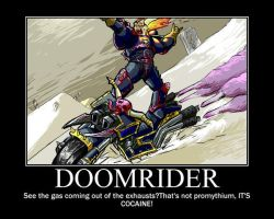Doomrider is also fabulous by Thanatus-kun