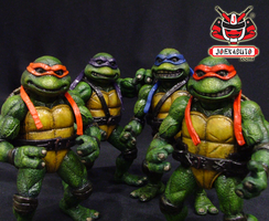 TMNT THE MOVIE 1990 REPAINT 18 by wongjoe82
