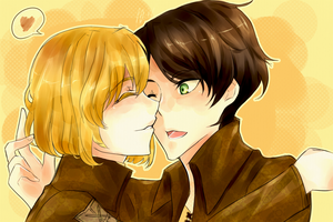 Eren, lets Kiss! by MyMyMellow